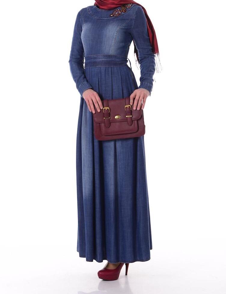 Длинная джинсовая юбка купить в спб